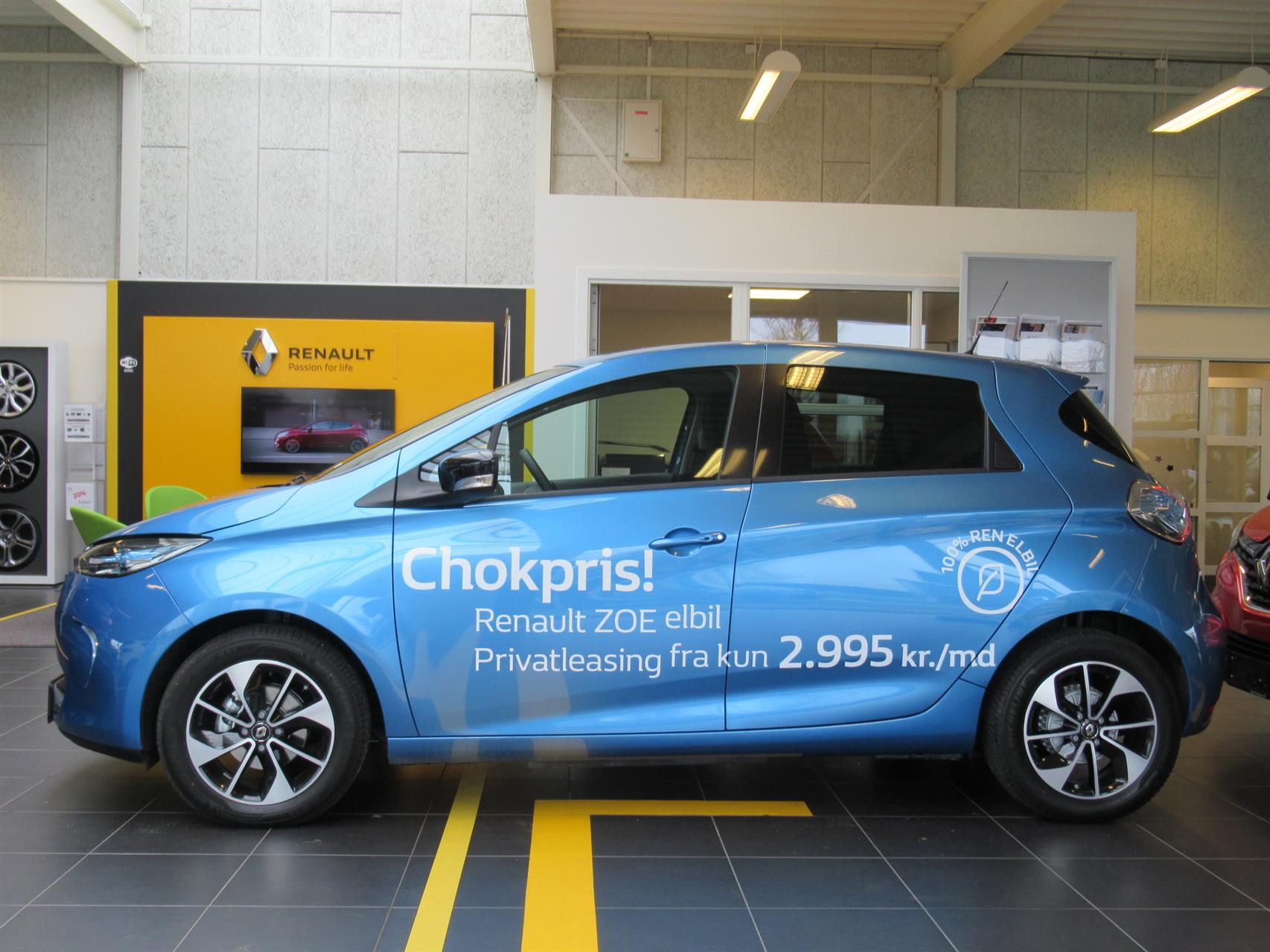 Billede af Renault Zoe el 41 kWh Intens 109HK 5d Aut.