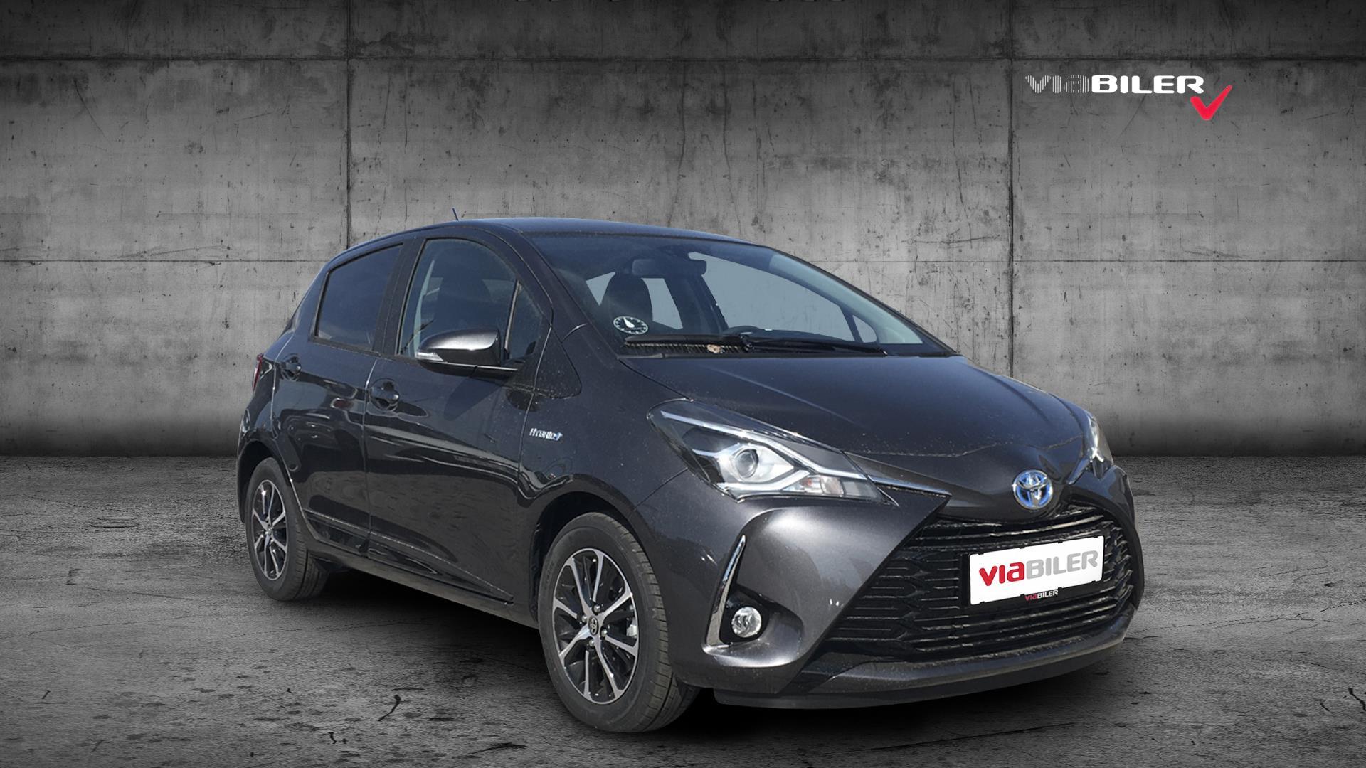 Billede af Toyota Yaris 1,5 B/EL H3 Smartpakke E-CVT 100HK 5d Trinl. Gear