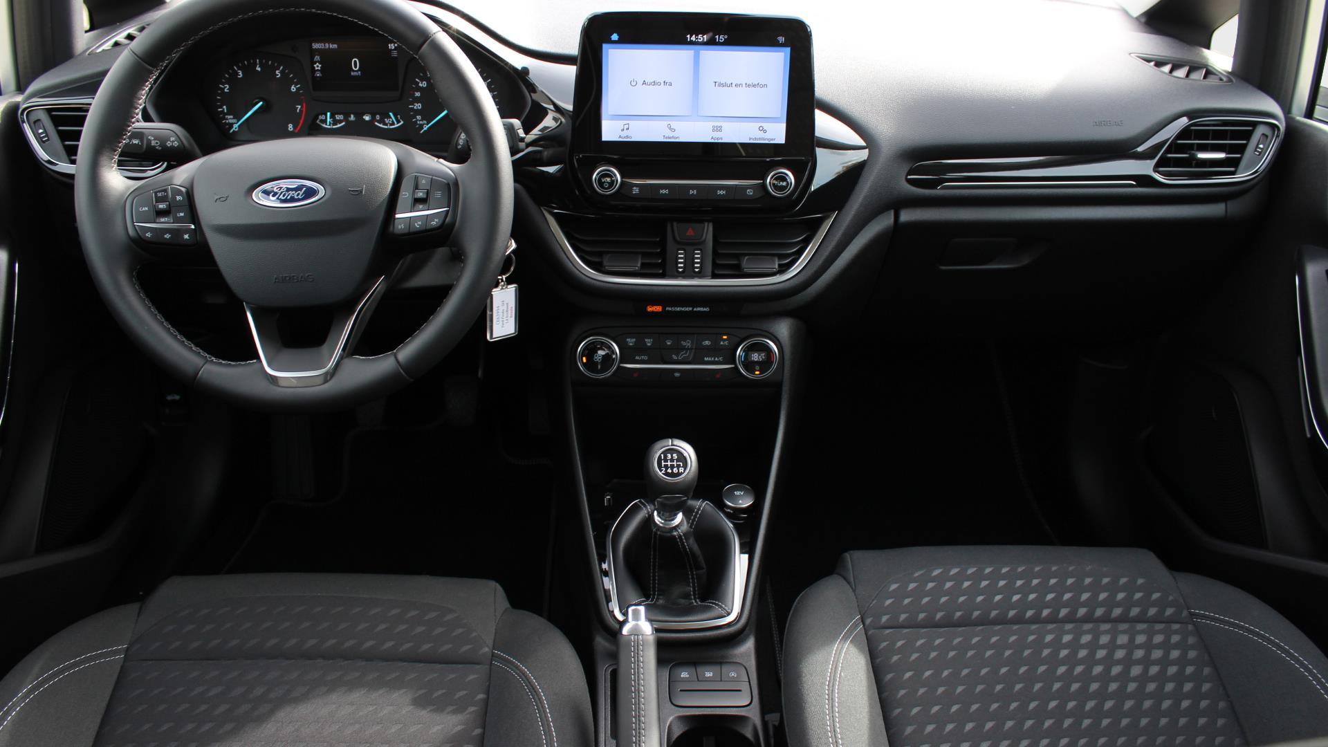Billede af Ford Fiesta 1,0 EcoBoost Titanium Start/Stop 100HK 5d 6g