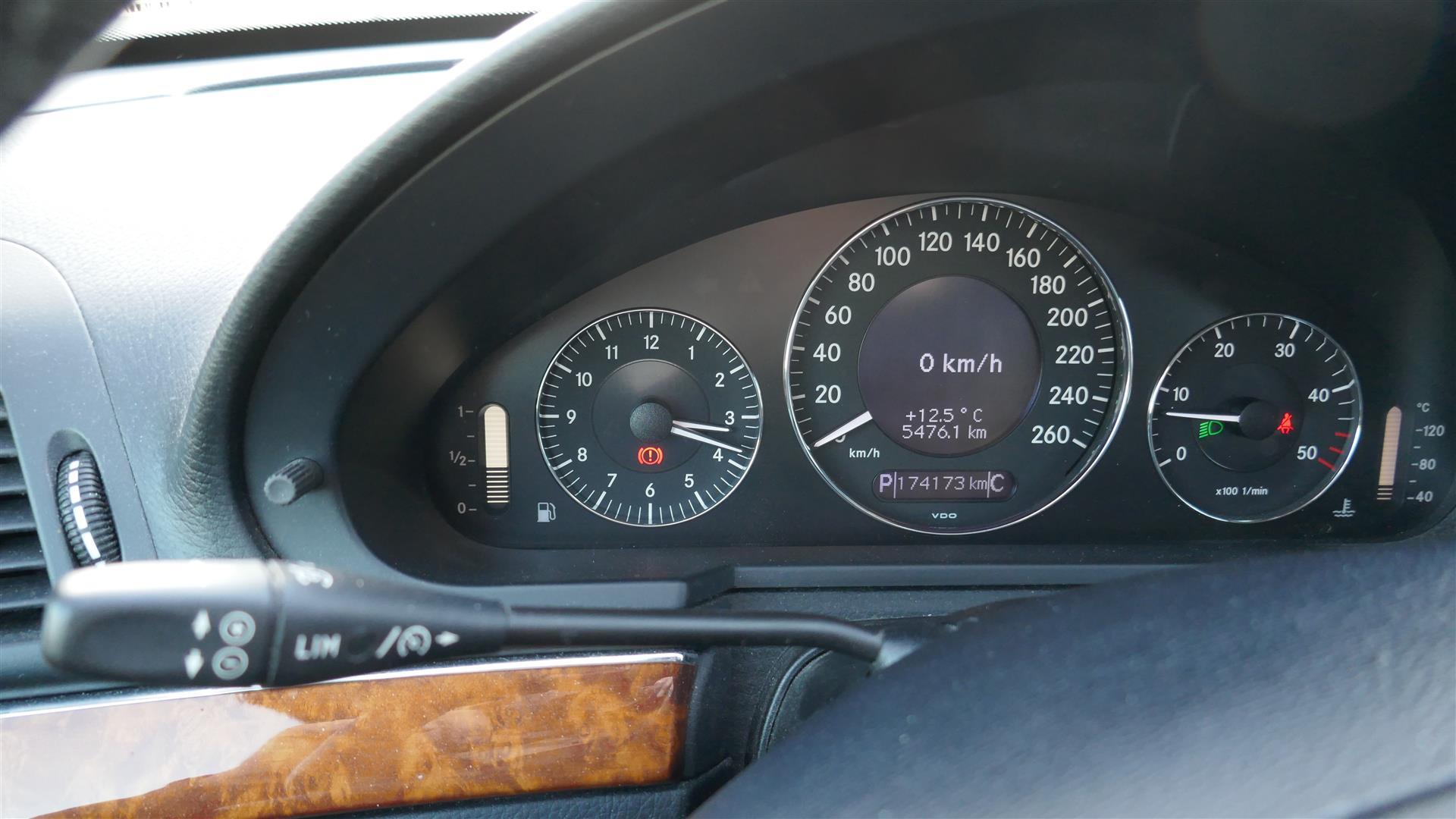 Billede af Mercedes-Benz E 3,0 D Rustvogn 280 CDI Aut. 190HK Stc