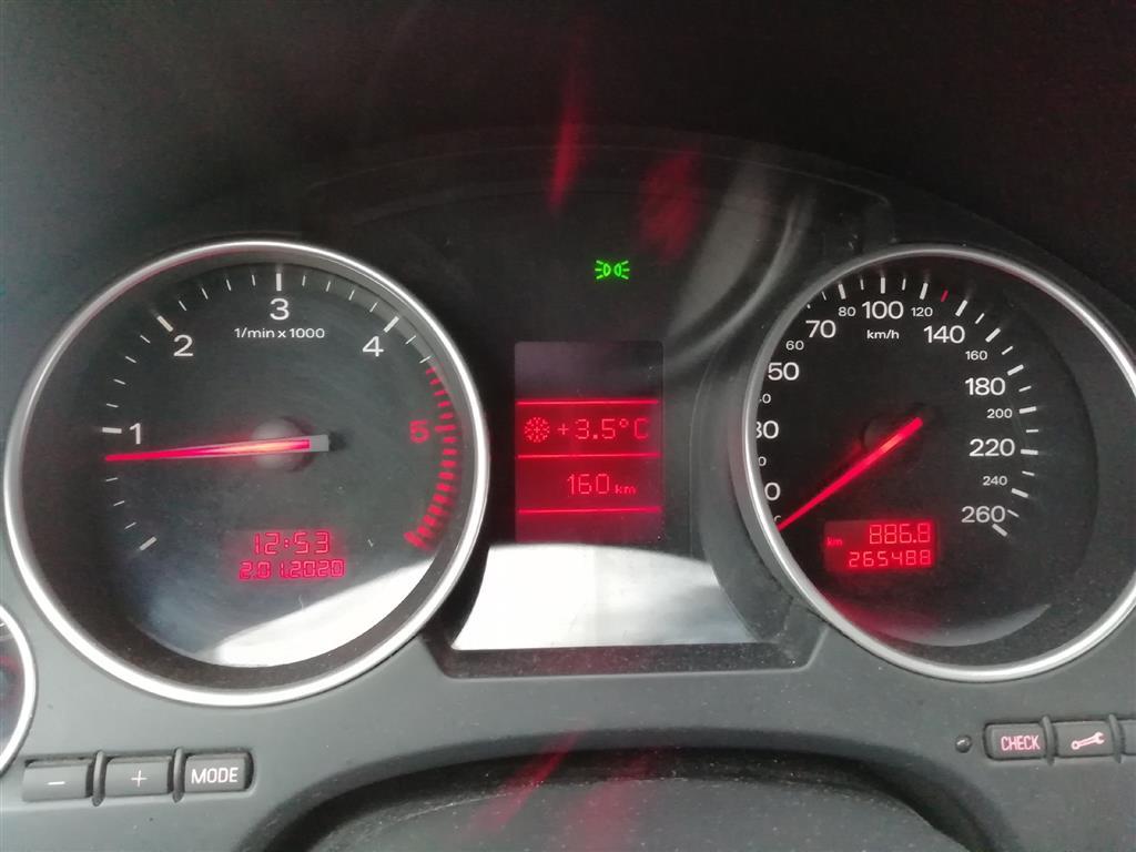 Audi A4 2,5 V6 TDI 163HK Cabr. 6g