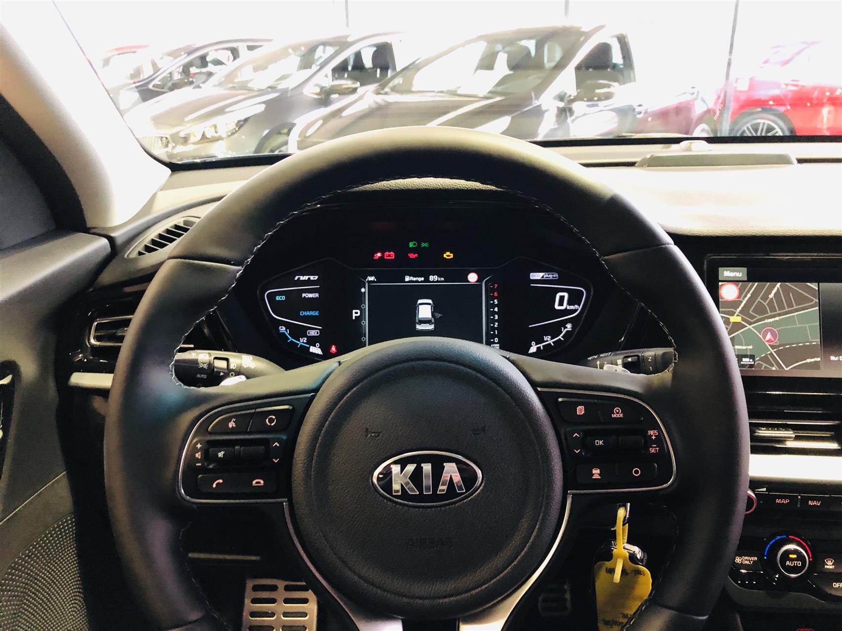 Billede af Kia Niro 1,6 GDI PHEV Advance DCT MY20 141HK 5d