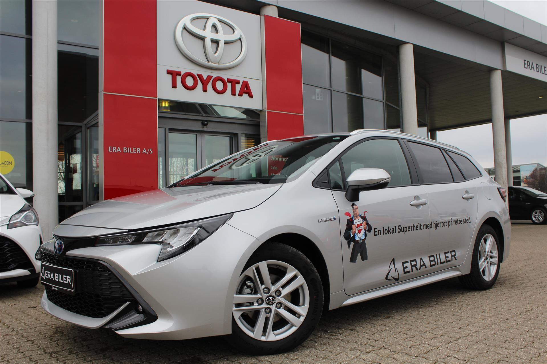 Billede af Toyota Corolla Touring Sports 1,8 B/EL H3 Smartpakke E-CVT 122HK Stc Trinl. Gear