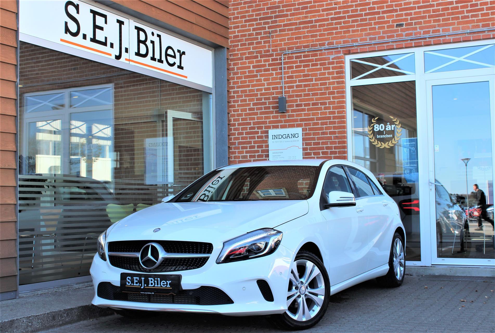 Billede af Mercedes-Benz A180 d 1,5 CDI Business 7G-DCT 109HK 5d 7g Aut.
