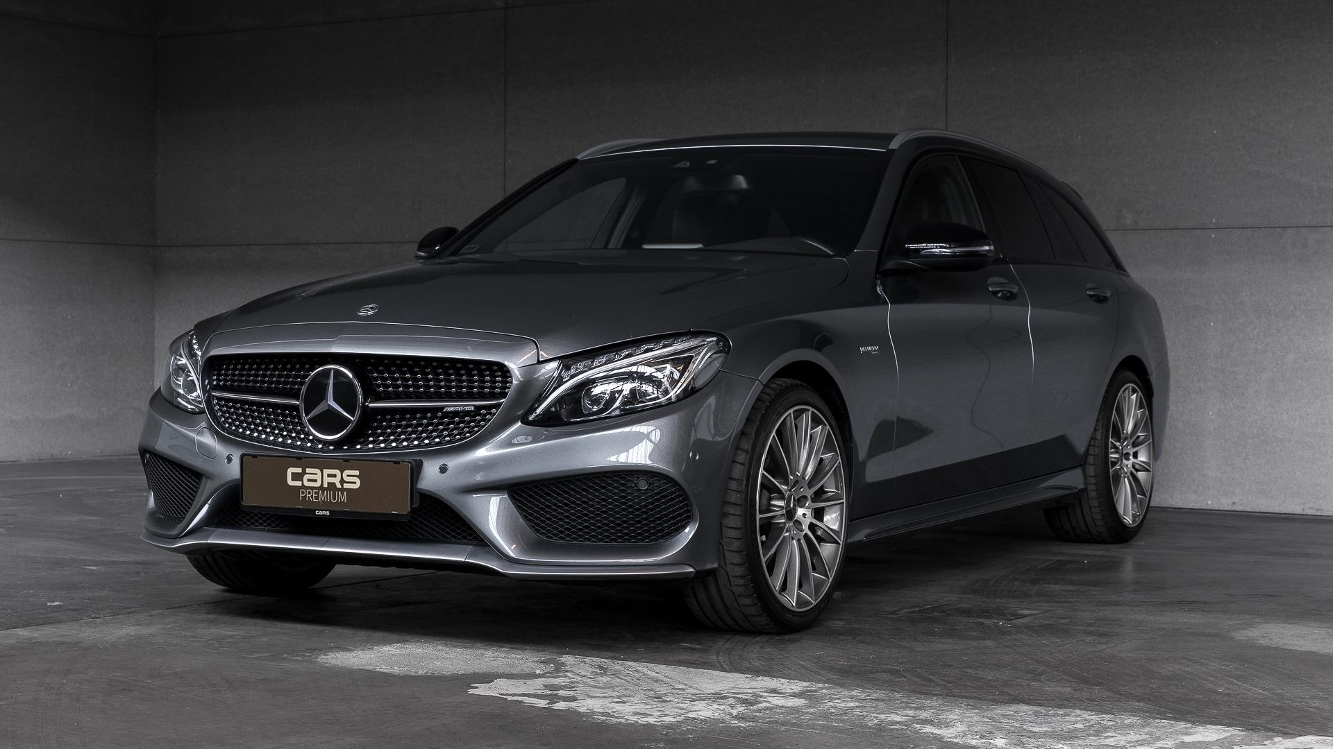 Billede af Mercedes-Benz C43 AMG T 3,0 V8 4-Matic 9G-Tronic 367HK Stc 9g Aut.