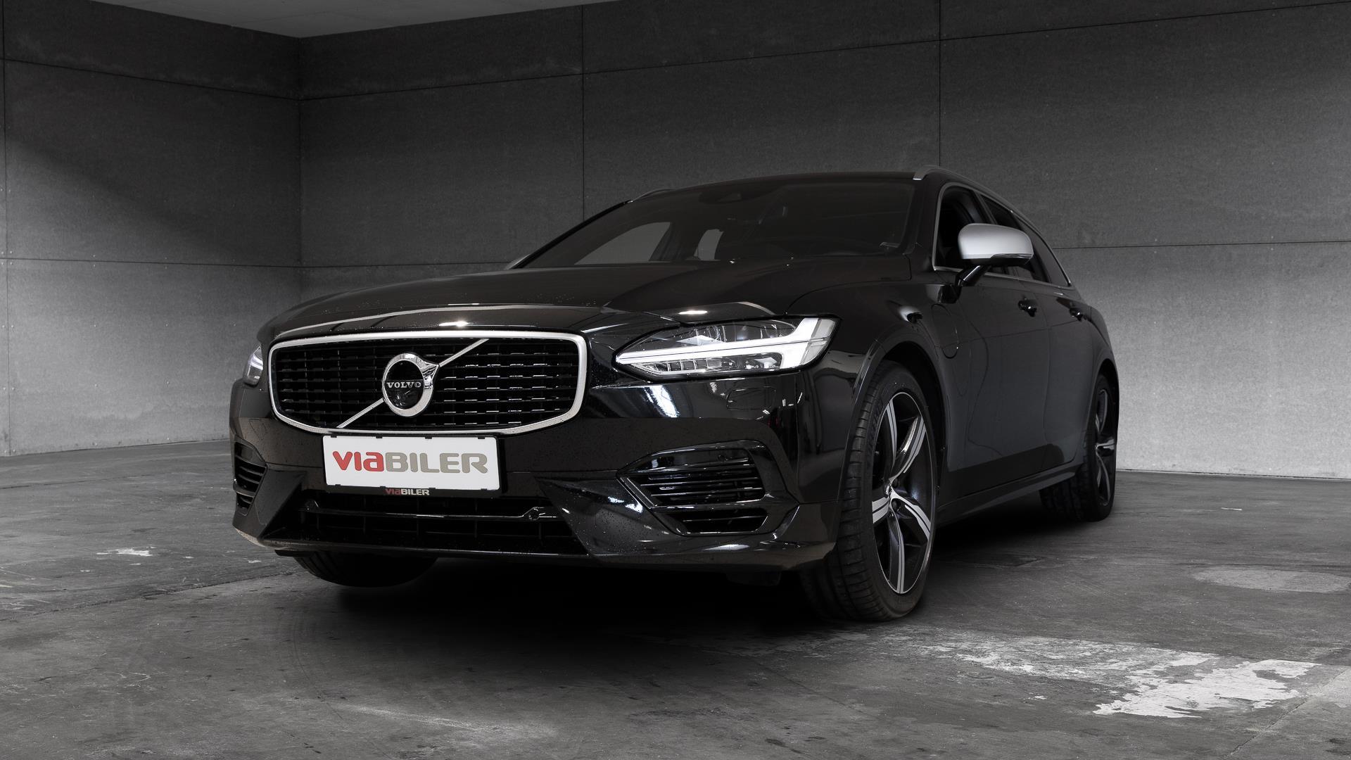 Billede af Volvo V90 2,0 T8 Twin Engine R-design AWD 390HK Stc 8g Aut.