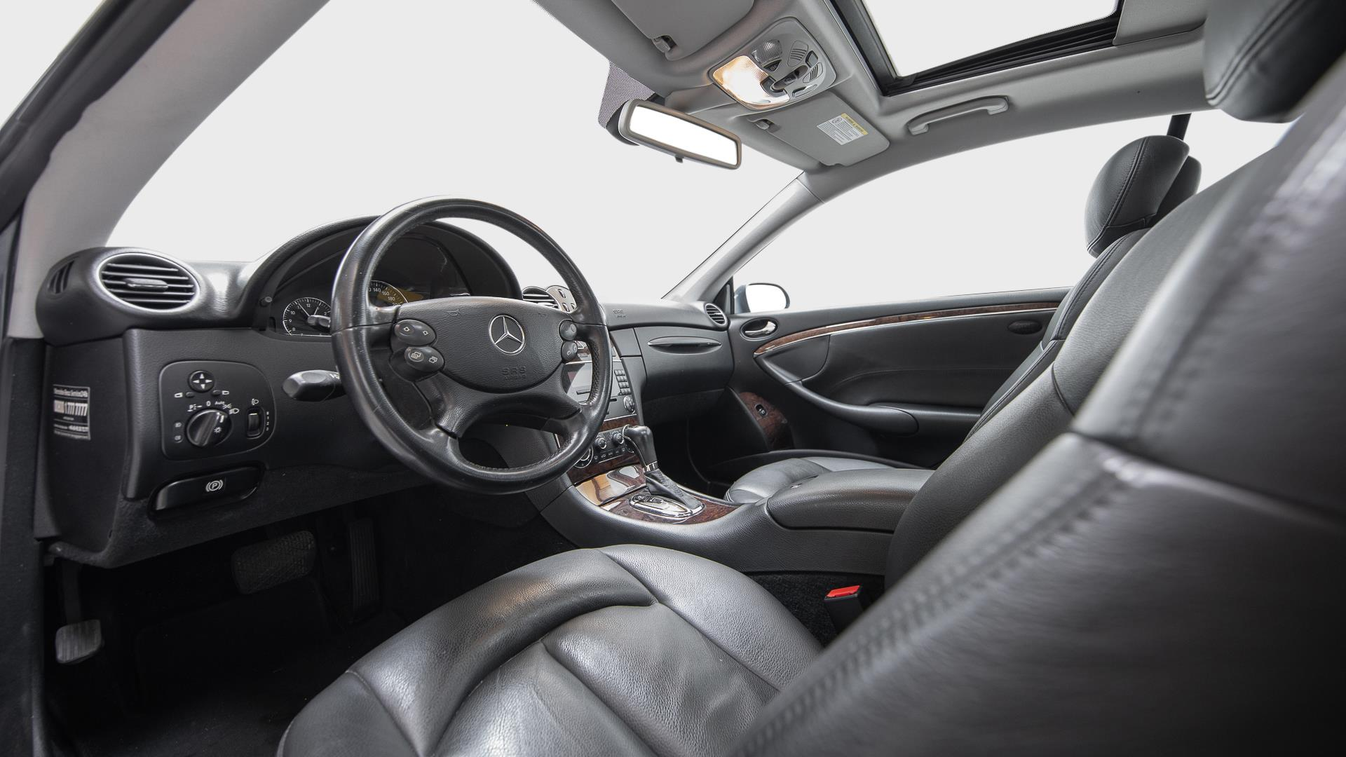 Billede af Mercedes-Benz CLK200 Kompressor aut. 163HK 2d