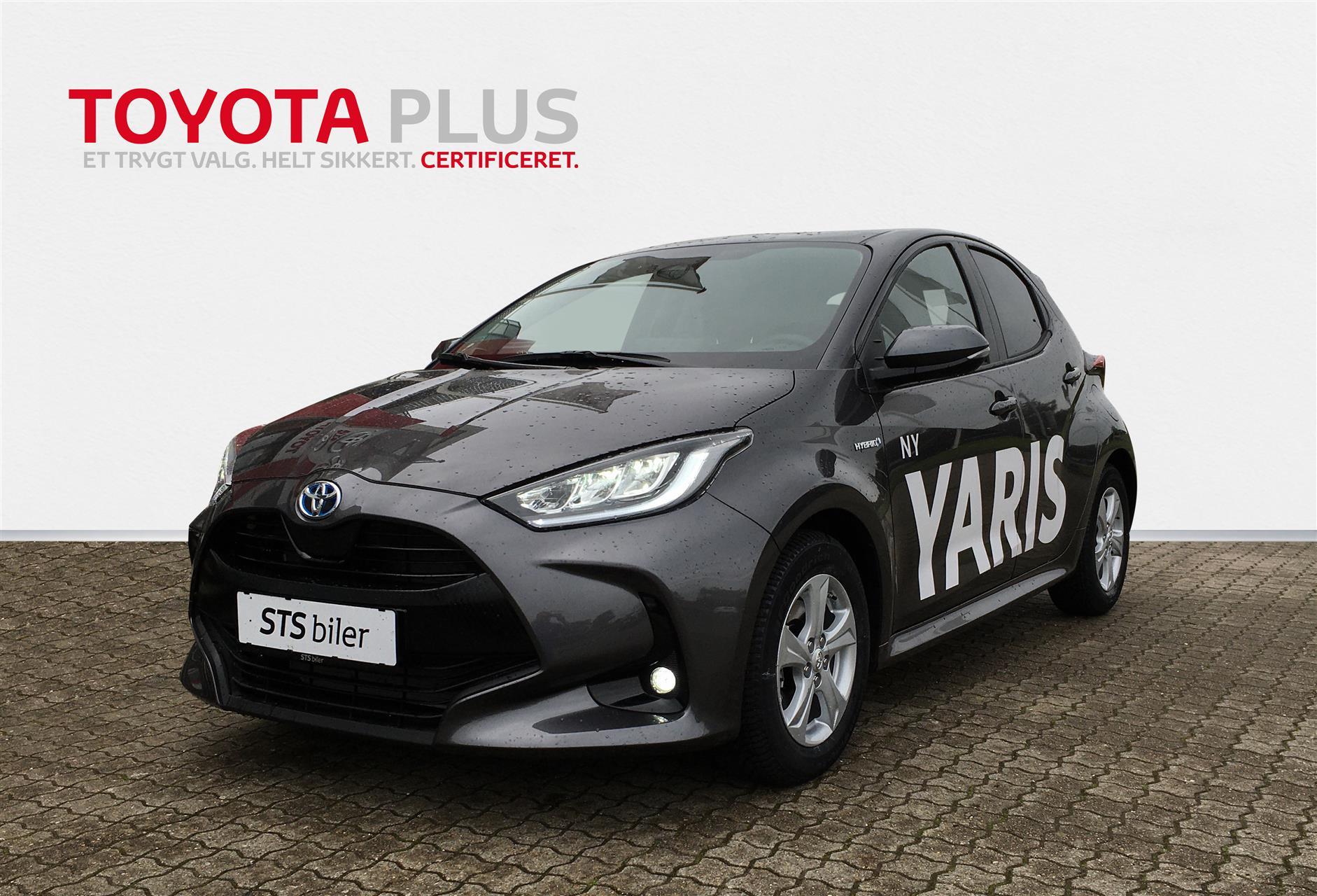 Billede af Toyota Yaris 1.5 Hybrid (116 hk) aut. gear H3 Smart