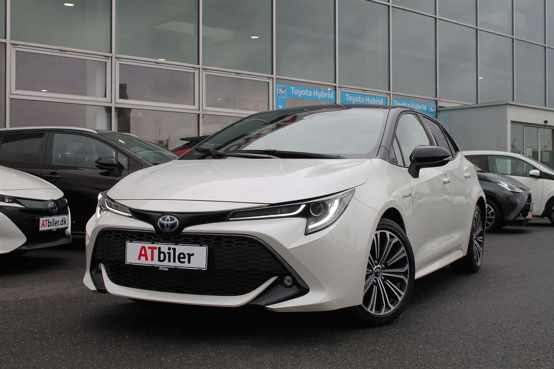 Billede af Toyota Corolla 2,0 B/EL H3 Premiumpakke E-CVT 180HK 5d 6g Aut.