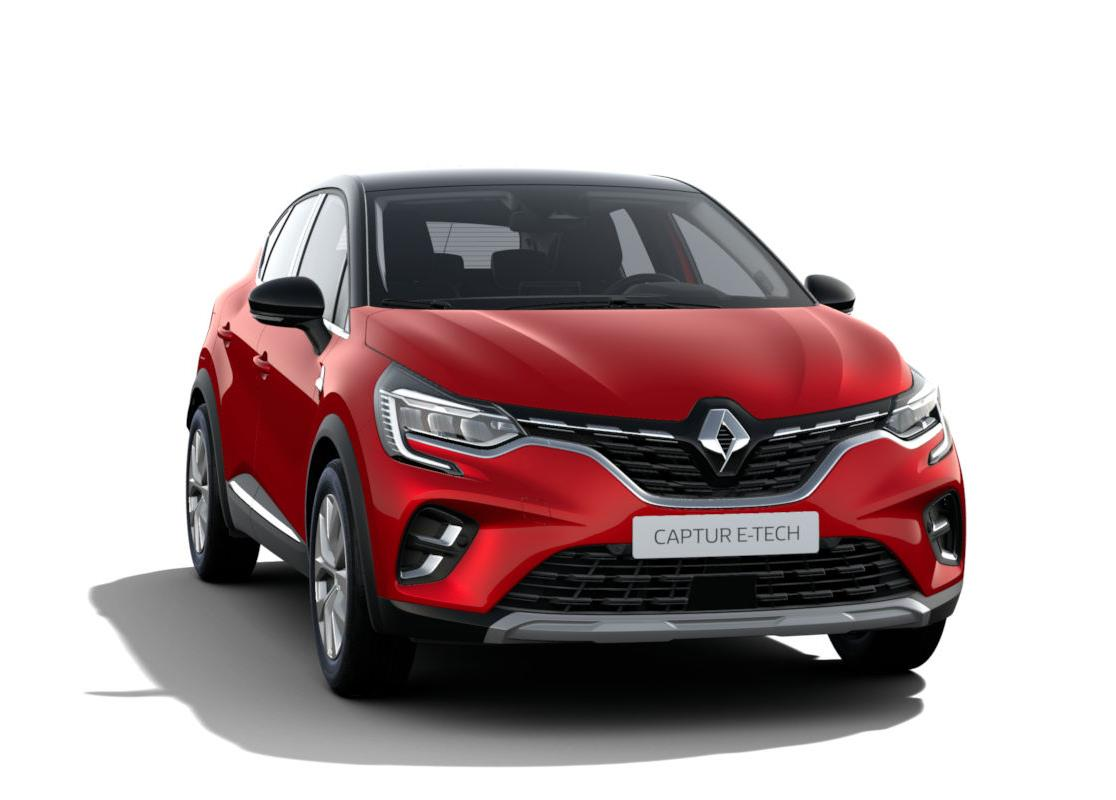 Billede af Renault Captur 1,6 E-TECH Intens 160HK 5d Aut.