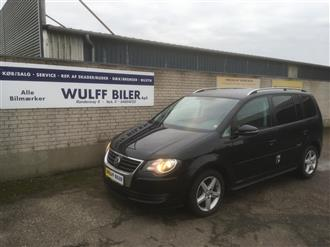 VW Touran 2,0 TDI Highline 140HK Van 6g