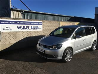 VW Touran 1,6 blueMotion TDI Comfortline 105HK Van 6g