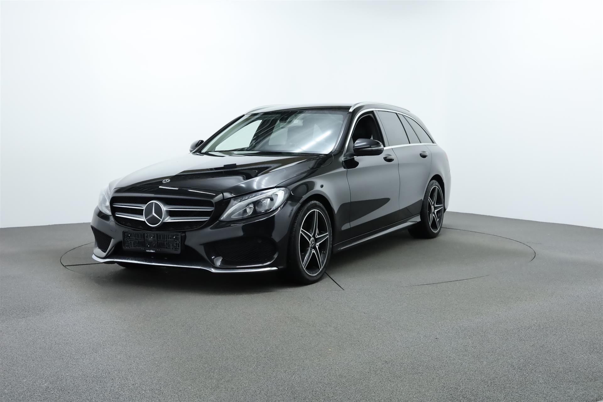 Billede af Mercedes-Benz C220 d T 2,1 Bluetec AMG Line 9G-Tronic 170HK Stc 9g Aut.