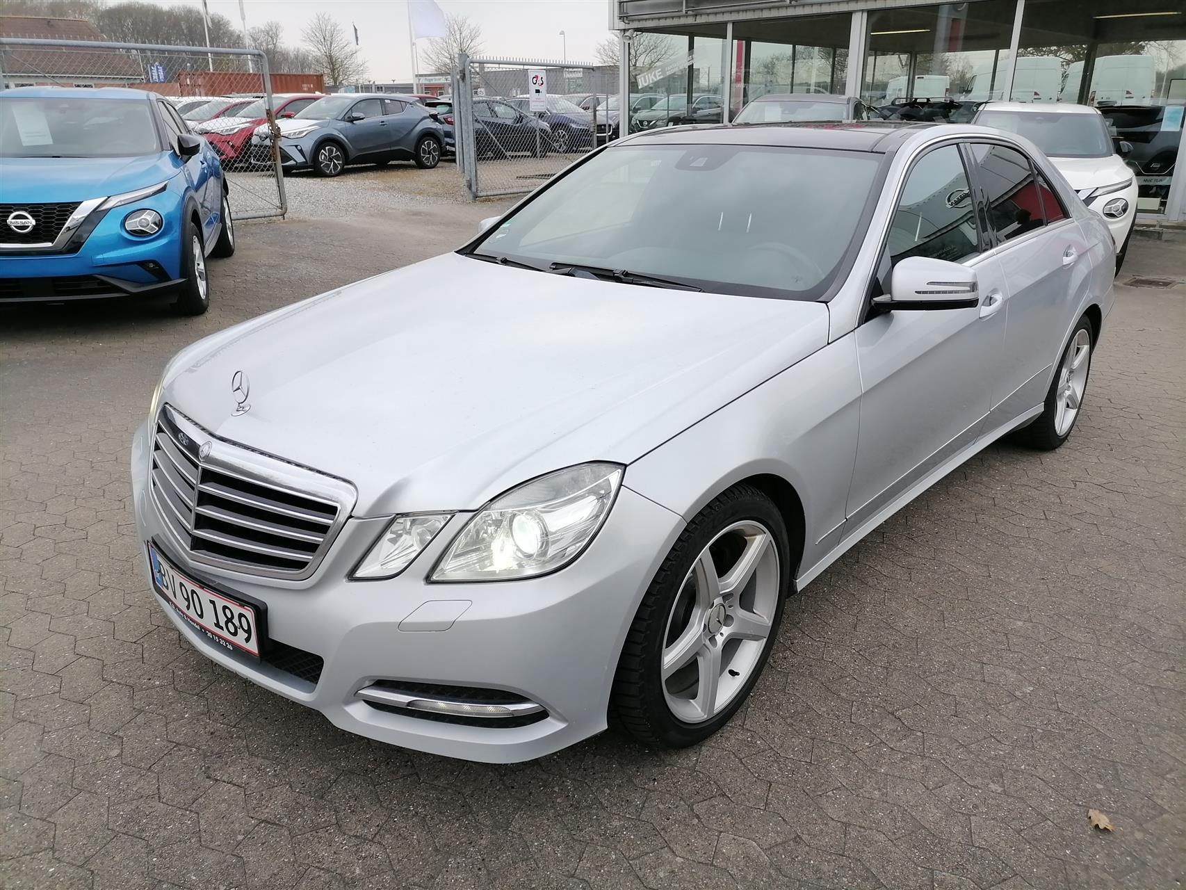 Billede af Mercedes-Benz E350 d 3,0 CDI BlueEfficiency 4-Matic 265HK 7g Aut.