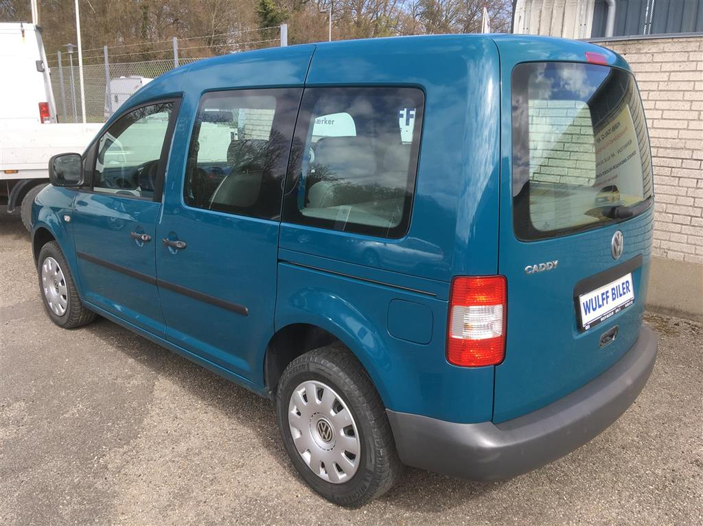 VW Caddy 1,9 TDI Life 104HK Aut.