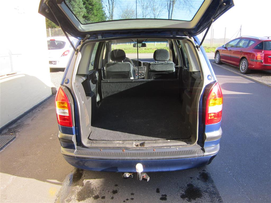 Opel Zafira Flexivan 2,2 147HK Van