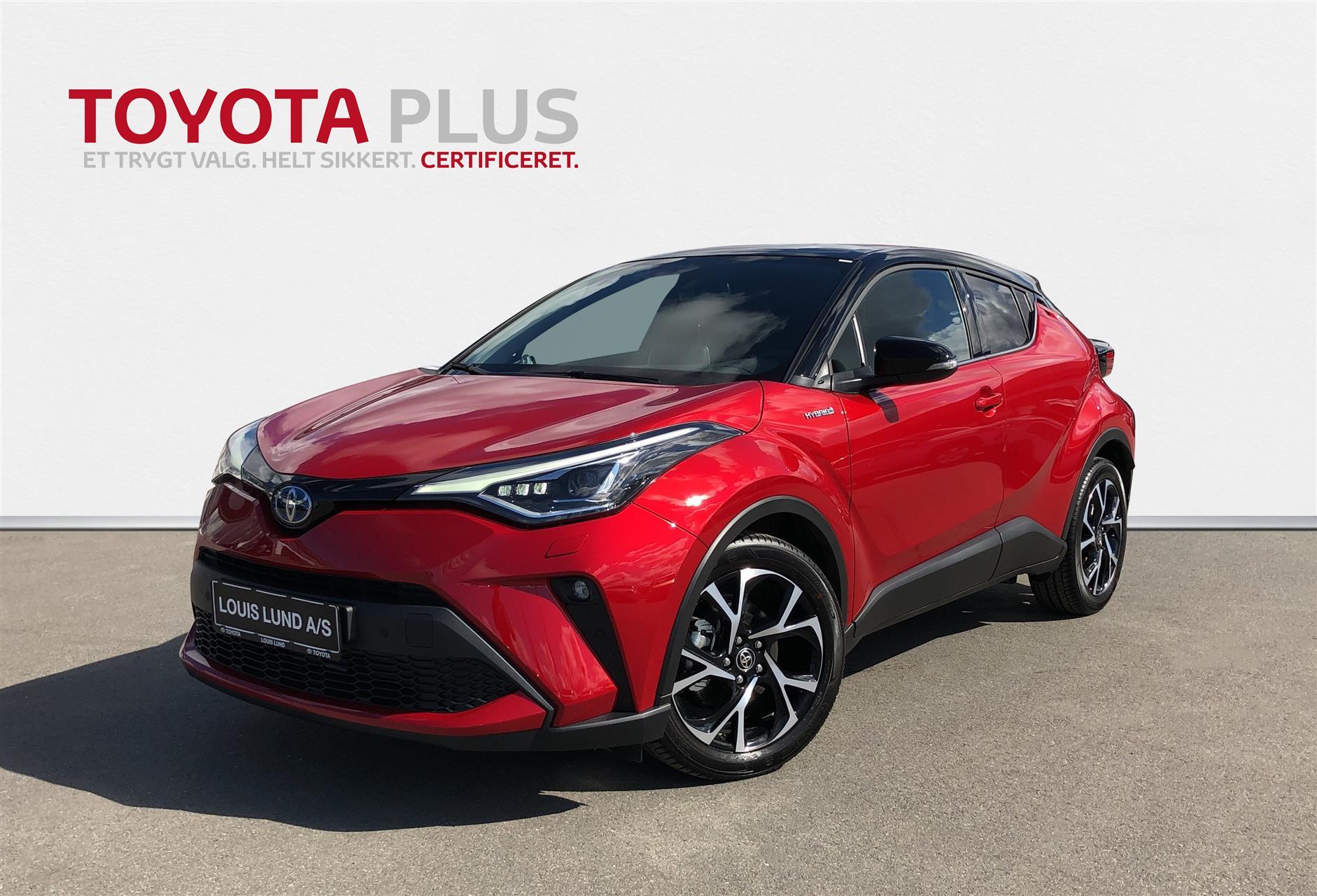 Billede af Toyota C-HR 2,0 Hybrid C-LUB Premium Multidrive S 184HK 5d Aut.