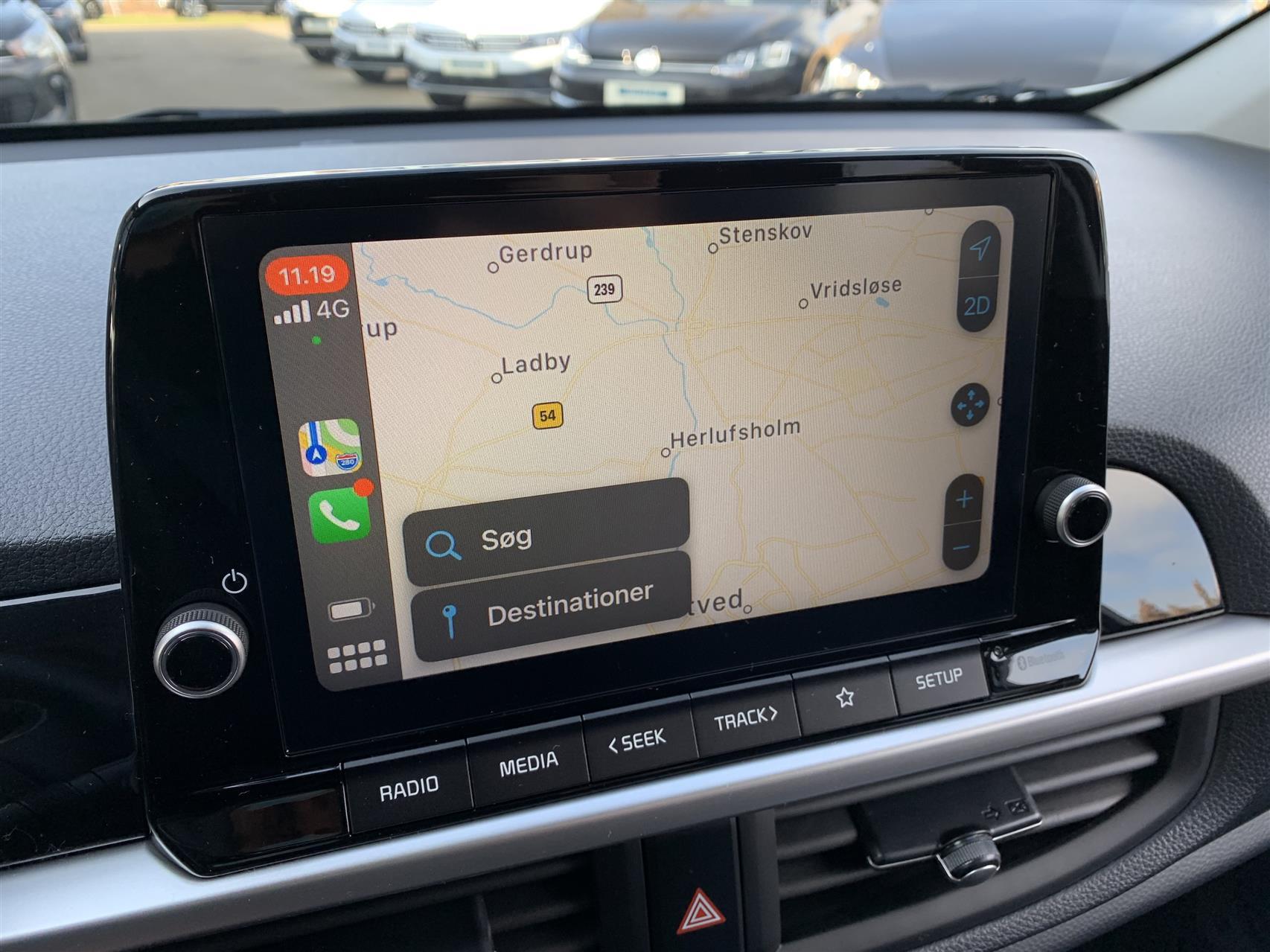 Billede af Kia Picanto 1,0 MPI Prestige m/Upgrade MY21 67HK 5d