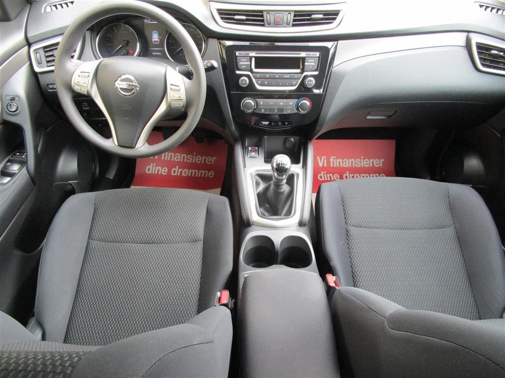 Nissan Qashqai 1,2 Dig-T Visia 4x2 115HK 5d 6g