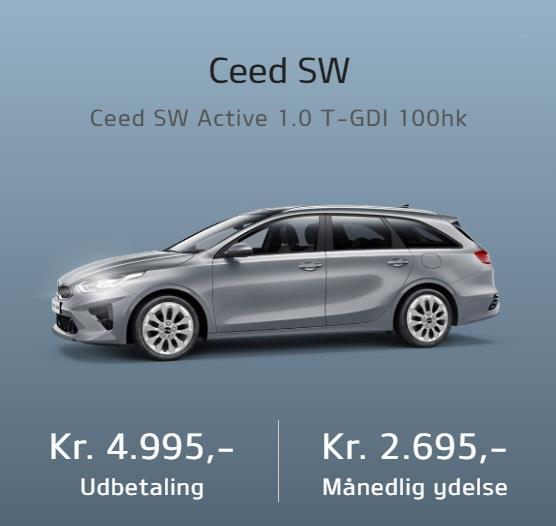 Billede af Kia Ceed SW 1,0 T-GDI Active 100HK Stc 6g