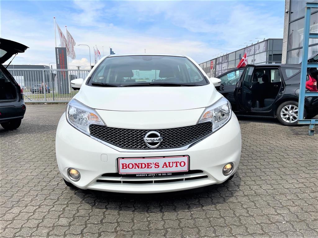 Nissan Note 1,2 Acenta PLUS TECH PACK 80HK 5d