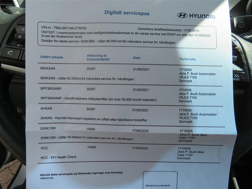 Hyundai Tucson 1,6 GDI Life Plus 132HK 5d 6g