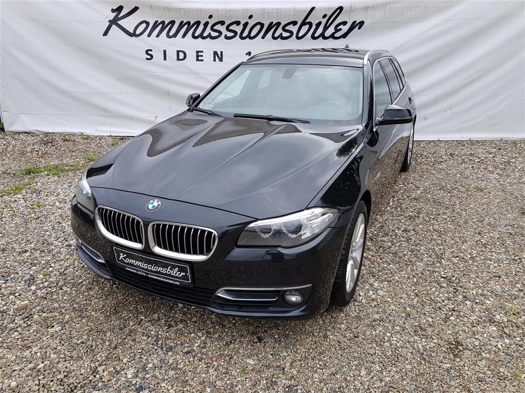 BMW 520d Touring 2,0 D Steptronic 190HK Stc 8g Aut.