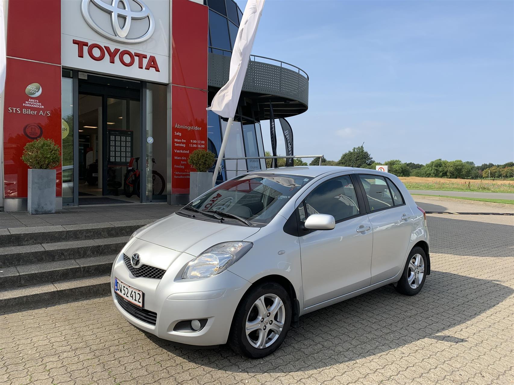 Billede af Toyota Yaris 1,3 VVT-I TX 100HK 5d 6g