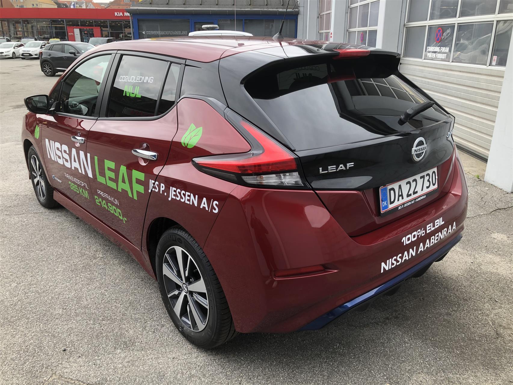 Billede af Nissan Leaf EL Acenta 40 kWh 150HK 5d Aut.